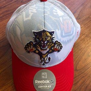 Reebok NHL Florida Panthers Mesh Hat Cap